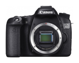 Canon EOS 70D (Body) W in iQlick