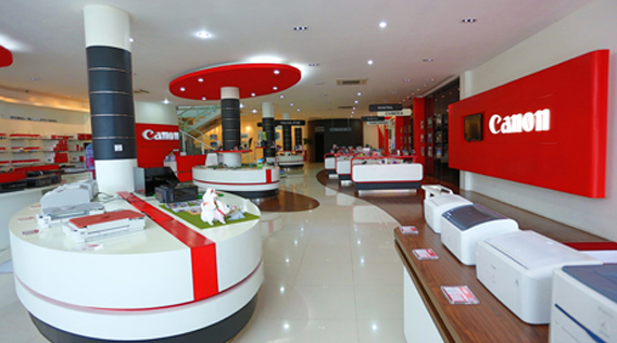 i-Qlick Showroom in Cambodia