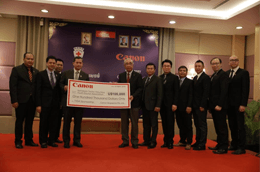 Canon announces sponsorship of US$100,000 to TYDA